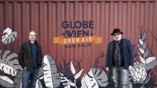 Theatermacher Georg Hoanzl und Michael Niavarani präsentieren GLOBE WIEN OPEN AIR