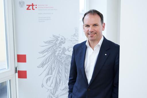 Gustav Spener, Präsident der Kammer der ZiviltechnikerInnen für Steiermark und Kärnten
