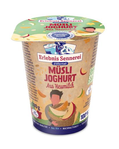 Müslijoghurt aus Heumilch