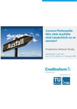 Univ.-Prof. Walter Schwaiger, TU Wien und Creditreform präsentieren aktuelle Studie zur Corona-Pleitewelle
