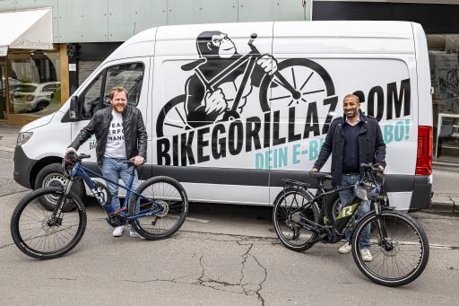 Nikolaus Mautner Markof und Arjun Ahluwalia starten Bike Gorillaz: Das erste österreichische All-Inclusive-Abo für E-Bikes
