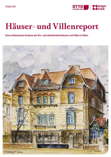 Häuser- und Villenreport: Große Nachfrage im 16., 17., 21. bis 23. Bezirk.