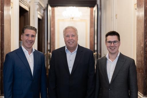 Michael, Harald und Claus Schmidt (v.l.n.r.): Die 3SI Immogroup ist einer der führenden Wiener Projektentwickler im Bereich Altbau & Neubau