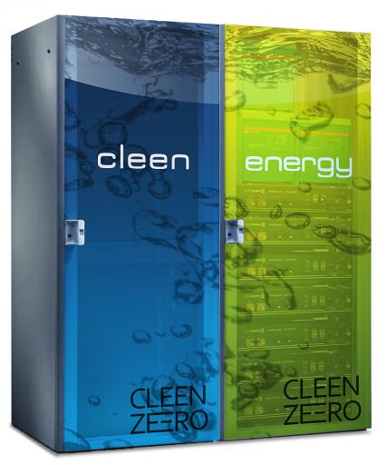 CLEEN zeero Wasserstoffspeicher