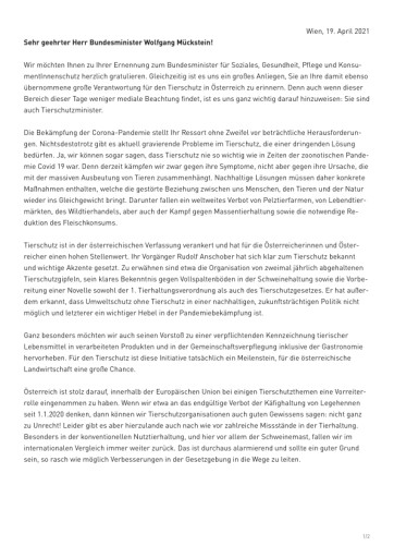 Pdf: Offener Brief an den neuen Bundesminister Wolfgang ...