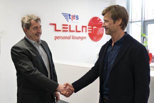 Verabschiedung des ehemaligen TPS-Inhabers und Geschäftsführers, Günther Leupert im ZELLNER-Büro