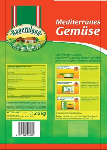 Produktbild Bauernland Mediterranes Gemüse_Rückseite