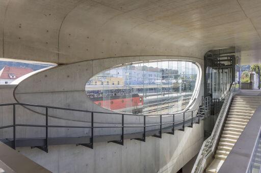 Siegerprojekt Infrastruktur: ÖBB Bahnhof Kapfenberg, Steiermark