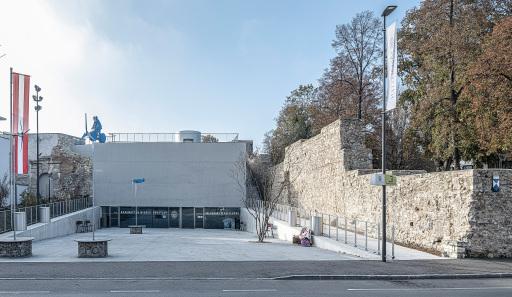 Anerkennung in der Kategorie Nachhaltigkeit: Kasematten und die neue Galerie Wiener Neustadt, Niederösterreich