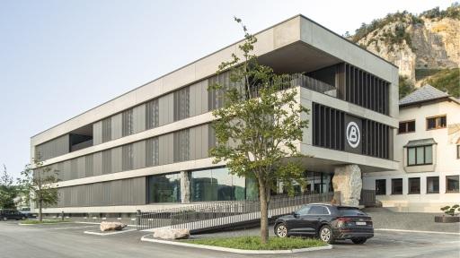Anerkennung in der Kategorie Ausführungsleistung: Die neue Zentrale des Unternehmens Bernegger, Oberösterreich