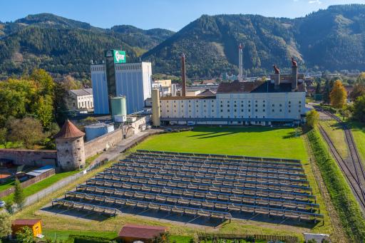 Die Grüne Brauerei Göss ist die weltweit erste Großbrauerei, die 100 % nachhatlig braut und damit Ressourcen schont.
