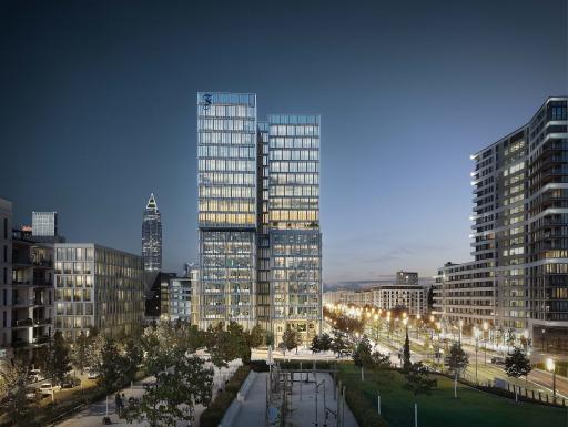 Projekt F.A.Z. Tower in Frankfurt