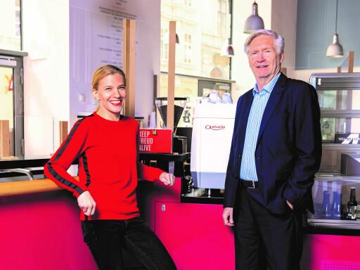 Dr. Lisz Hirn und Dr. Peter Pelinka