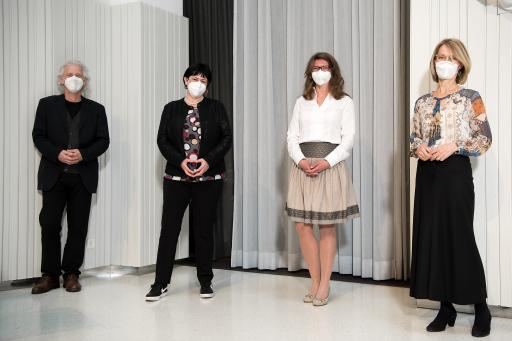 """https://www.apa-fotoservice.at/galerie/24939 PODIUMS-TALK """"Gemeinsame Perspektiven von Physiotherapie & Osteopathie in Österreich"""" mit (v.l..n.r.): Peter SOMMERFELD, BA MSc D.O.; Constance SCHLEGL, MPH; Dr. Diana STÖCKL, MSc D.O und Nina MITTENDORFER, D.O."""