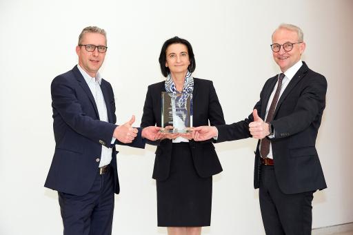 Verleihung des FOND professionell Service-Award 2021