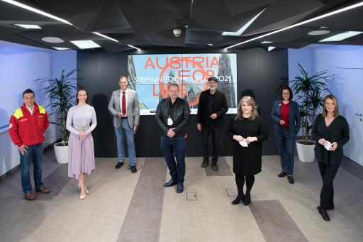 https://www.apa-fotoservice.at/galerie/25026 Österreichweite Initiative AUSTRIA FOR LIFE hilft Menschen, die durch die Covid-19-Pandemie in Not geraten sind. Nationales Wahrzeichen wird im Rahmen einer Live-TV-Benefizshow zur virtuellen Bühne.