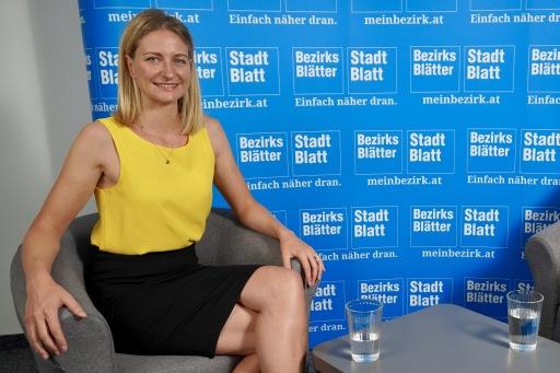 """Julia Hettegger, die Chefredakteurin der Bezirksblätter Salzburg: """"Wir wollten unbedingt etwas Wertschätzendes für unsere Jugend machen, die sich seit über einem Jahr in der Pandemie so tapfer zeigt."""""""