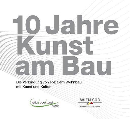 "Titelblatt Broschüre ""Kunst am Bau"""