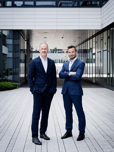 Das neue ACP Geschäftsführerduo in Wien: Wolfgang Burda (l.) mit Edwin Klinglhuber (r.)