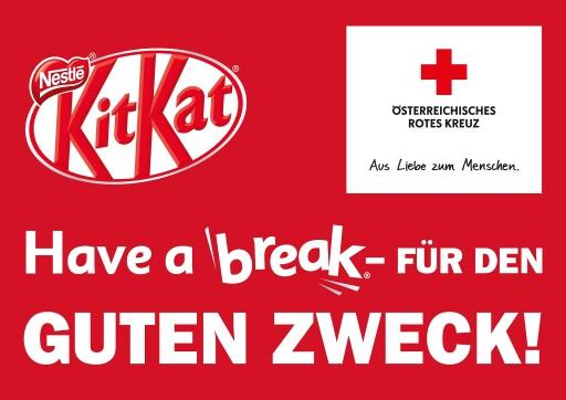 Nestlé führt Kooperation mit dem Roten Kreuz weiter. Vom 1. Mai bis 30. Juni werden die Gewinne aus den Verkäufen des gesamten KITKAT-Sortiments dem kostenlosen Lernangebot des Österreichischen Roten Kreuzes gewidmet.