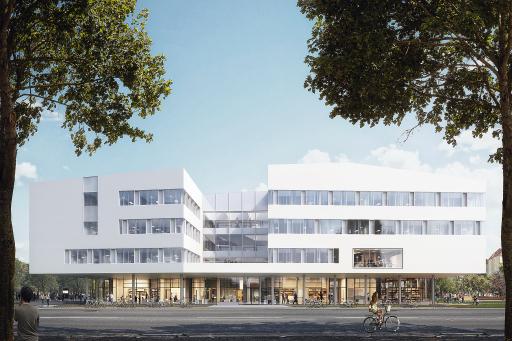 Im Herbst eröffnet der neue Campus St. Pölten