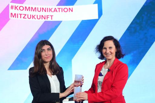 Melisa Erkurt Kommunikatorin des Jahres 2020