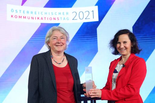 Elisabeth Puchhammer-Stöckl COVID-Kommunikatorin des Jahres 2020