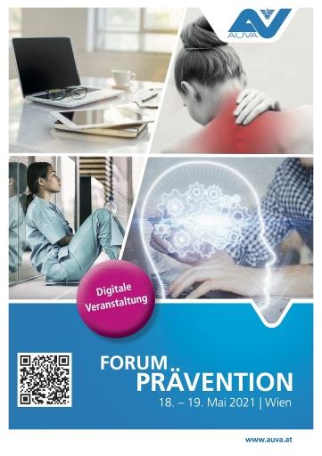"""""""Voll digital"""": Die bedeutendste österreichische Fachveranstaltung zur Prävention findet am 18. und 19. Mai online statt."""