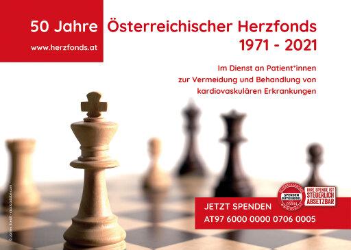 50 Jahre aktiv für die Herzgesundheit der Österreicher*innen