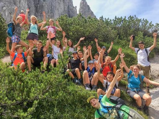 Natur und Berge hautnah erleben beim Sommercamp für Jugendliche