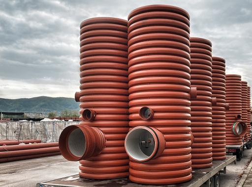 Insbesondere in den CEE-Regionen verzeichnet die Wienerberger Piping Solutions bemerkenswerte Zuwächse bei Straßen-und Bahnentwässerungsprojekten mit Pipelife Regenwasserentwässerungssystemen.