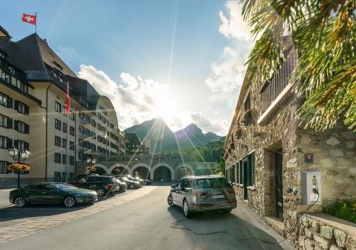 E-Grand Tour of Switzerland, Suvretta House, St.Moritz
