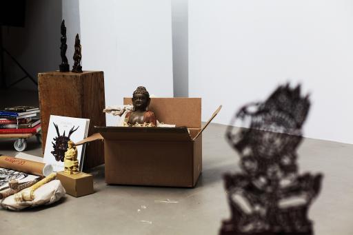 """Ankündigungsbild zur Einzelausstellung """"Dancing on Thin Ice"""" von Lisl Ponger"""