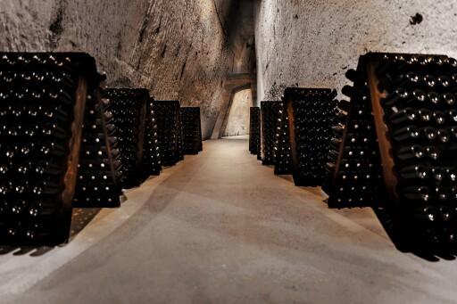 Die berühmten Kreidekeller (heute UNESCO Weltkulturerbe)