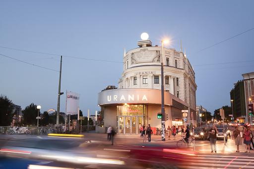 Das Urania Kino in Wien sperrt am 19. Mai wieder auf.