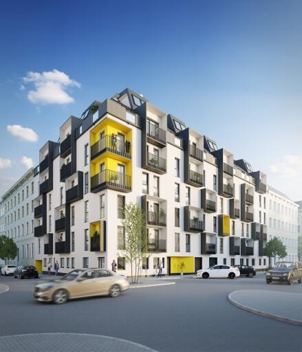 67 Neubauwohnungen entstehen bis August 2022 in der Albrechtskreithgasse 32.