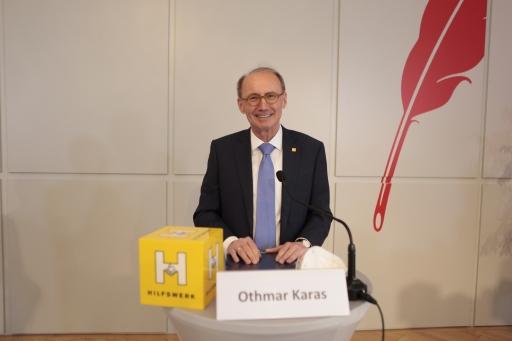 Dr. Othmar Karas, Präsident des Hilfswerk Österreich