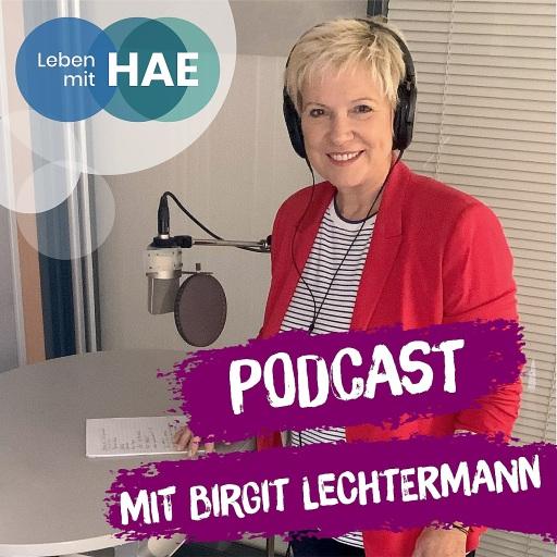 """Die bekannte TV-Moderatorin Birgit Lechtermann führt durch den neuen Podcast """"Leben mit HAE"""" / Weiterer Text über ots und www.presseportal.de/nr/76904 / Die Verwendung dieses Bildes ist für redaktionelle Zwecke unter Beachtung ggf. genannter Nutzungsbedingungen honorarfrei. Veröffentlichung bitte mit Bildrechte-Hinweis."""