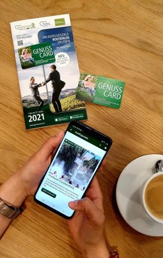 Mit der digitalen GenussCard haben App-Besitzer die kostenlose Eintrittskarte immer und überall dabei.
