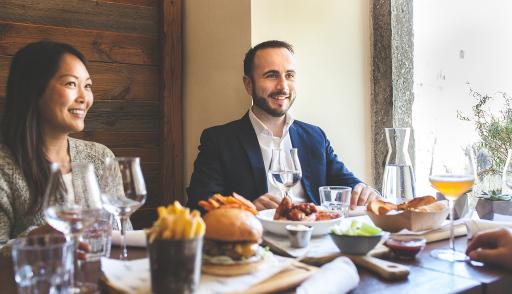 Edenred-Geschäftsführer Christoph Monschein freut sich, wieder seine Lieblingsrestaurants besuchen zu können