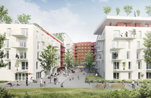 "Plus-Energie-Wohnbauprojekt ""Wientalterrassen"", Wien"