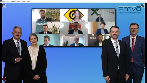 Vortragende und Gewinner des FMVÖ-Recommender-Award 2021