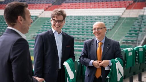 v.l.n.r.: Christoph Peschek, Christoph Neumayer, Christian Bayer