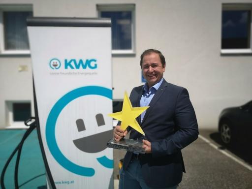 Peter J. Zehetner freut sich über die Auszeichnung mit dem Energie Star