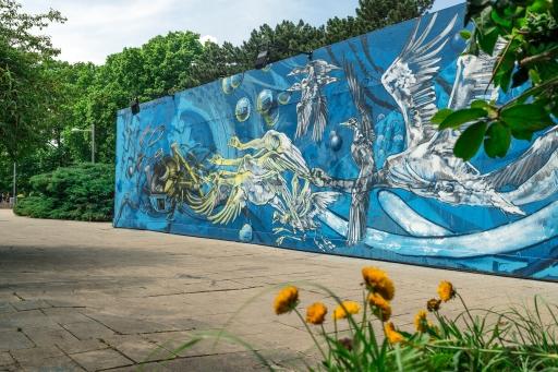 Wien Museum Open Air - Street Art am Bauzaun -Urban Natures