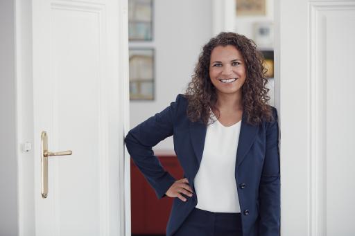 Nadja Hafez, Prokuristin bei ADEQAT Investment Services