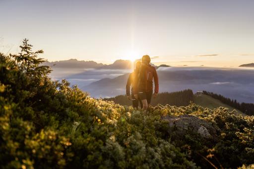 Bei der Sonnenaufgangswanderung mit Bergfrühstück erwartet die Teilnehmer ein Erlebnis der besonderen Art.