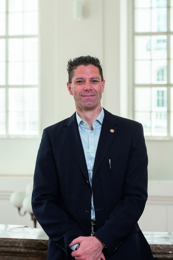 Christian Gesek, Chief Information Officer des Justizministeriums