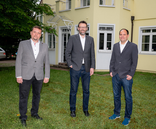 Die neuen Geschäftsführer der RSA FG: Markus Tauber, Michael Tockner und Thomas Prinz (v.l.n.r.)