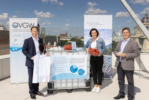 Köstinger/Nöstlinger: Hohen Wasserverbrauch bei Erzeugung von Gütern verstärkt beachten